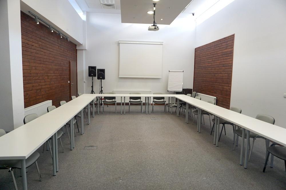 Sala konferencyjna - ustawienie podkowa