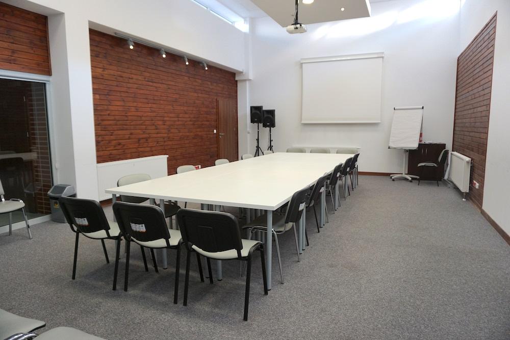 Sala konferencyjna - ustawienie zarządowe